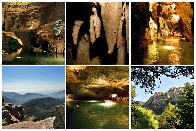 Подземная сказка – экскурсия в пещеры