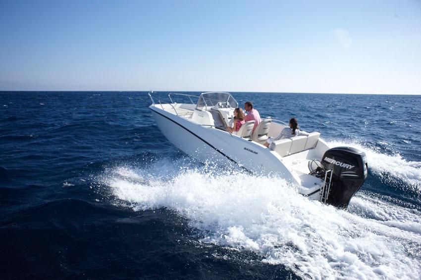 на лодке по гарде
