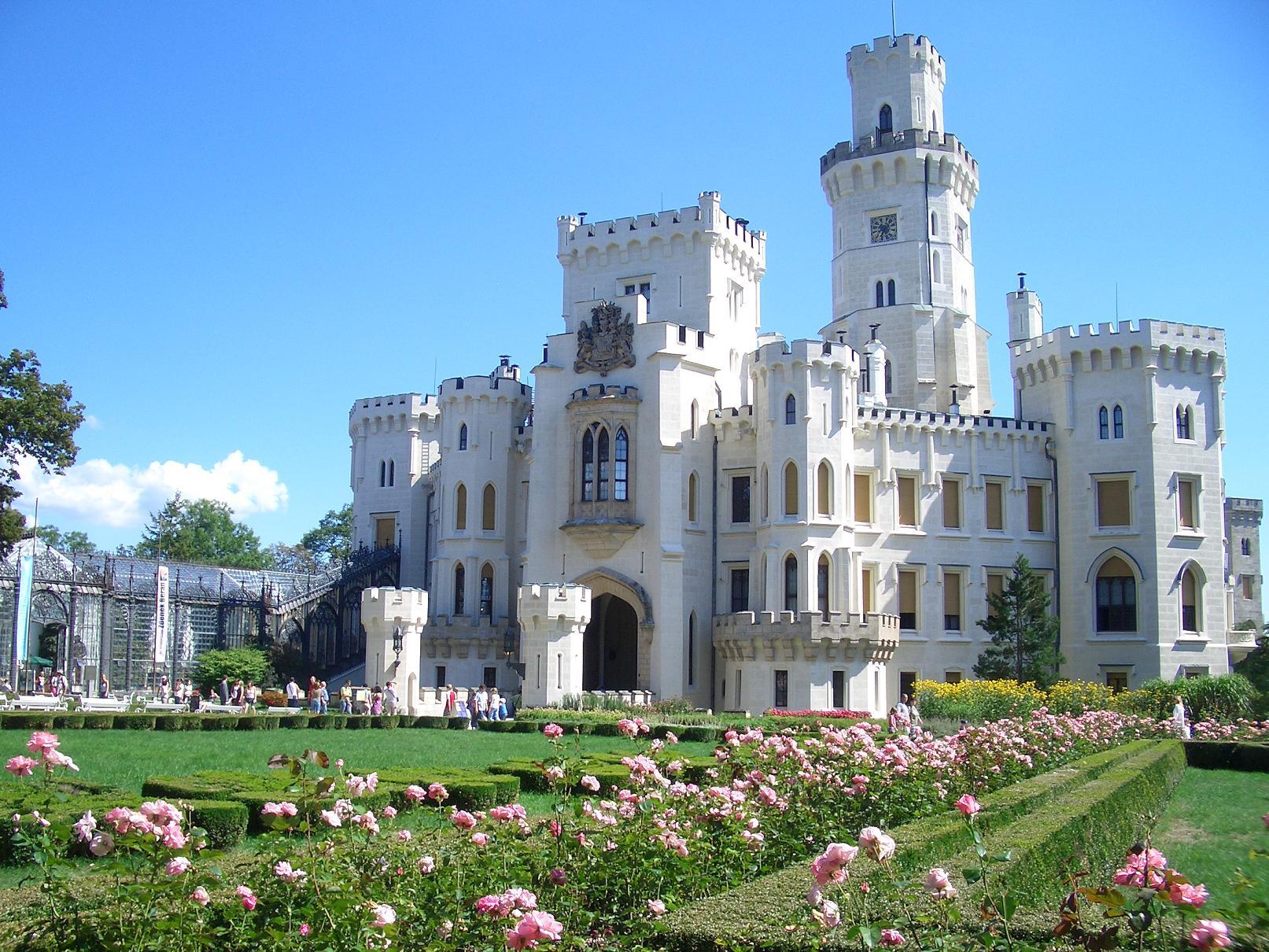 Hluboka Chateau, Czech Republic скачать