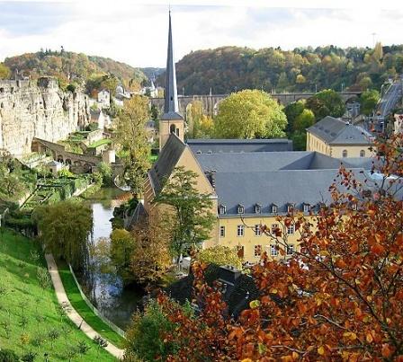 знакомство с люксембургом