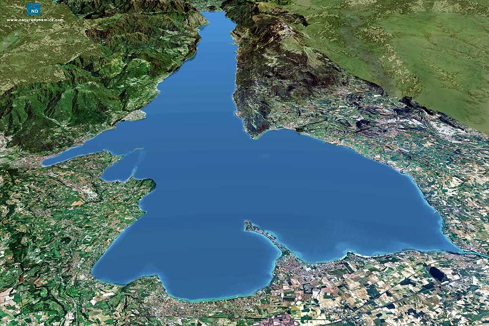 Autista Lago di Garda ha fermato il treno